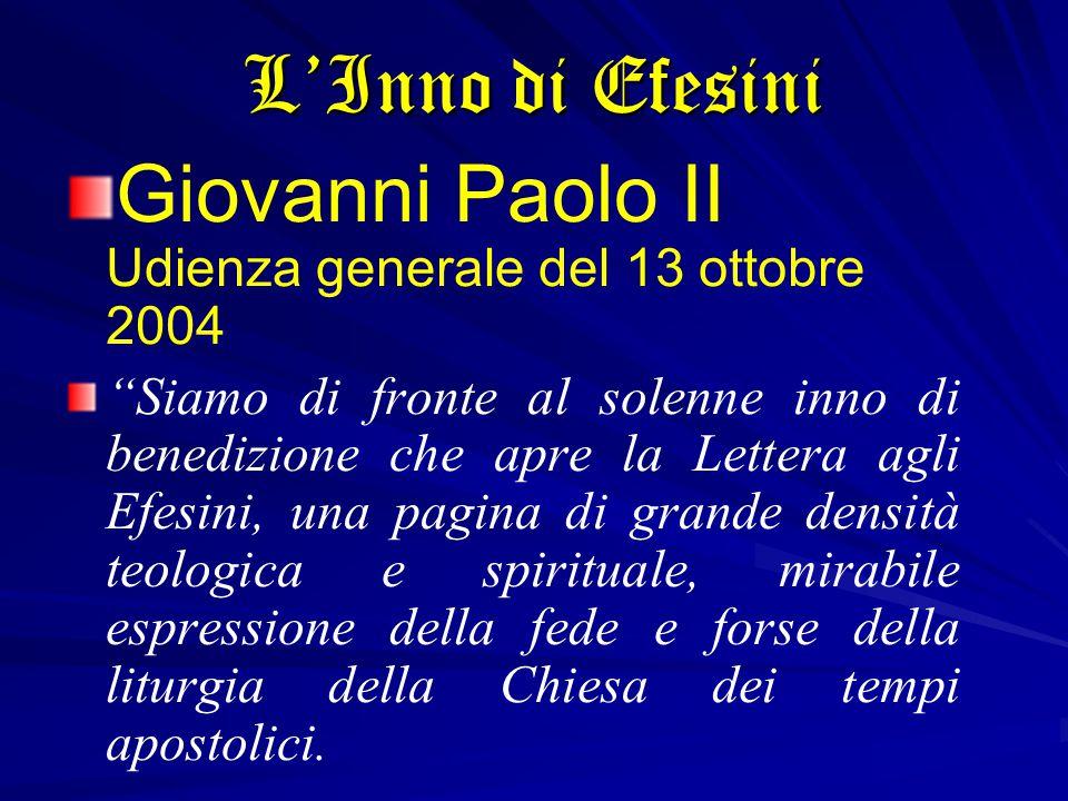 Giovanni Paolo II Udienza generale del 13 ottobre 2004