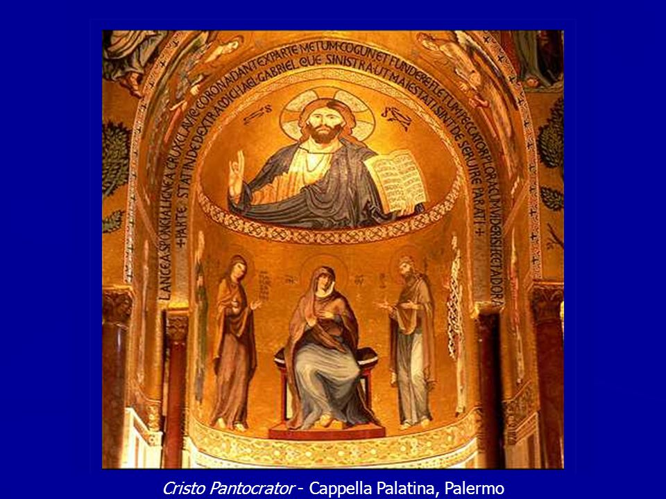 Cristo Pantocrator - Cappella Palatina, Palermo