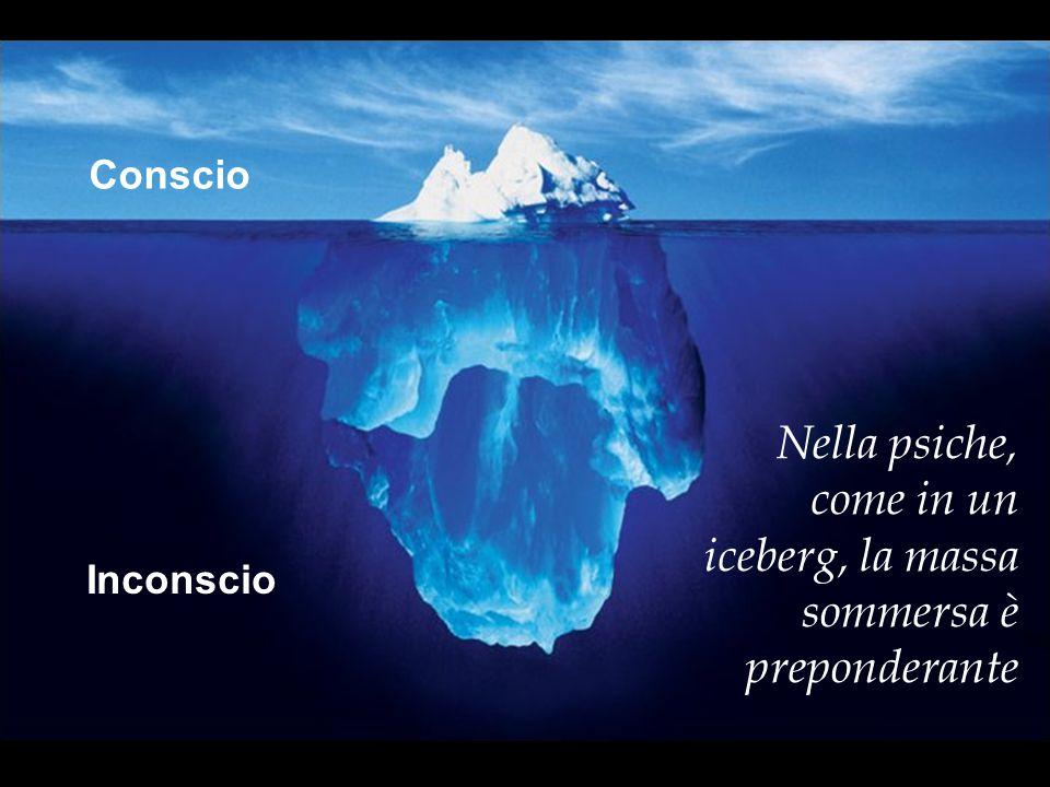 Nella psiche, come in un iceberg, la massa sommersa è preponderante