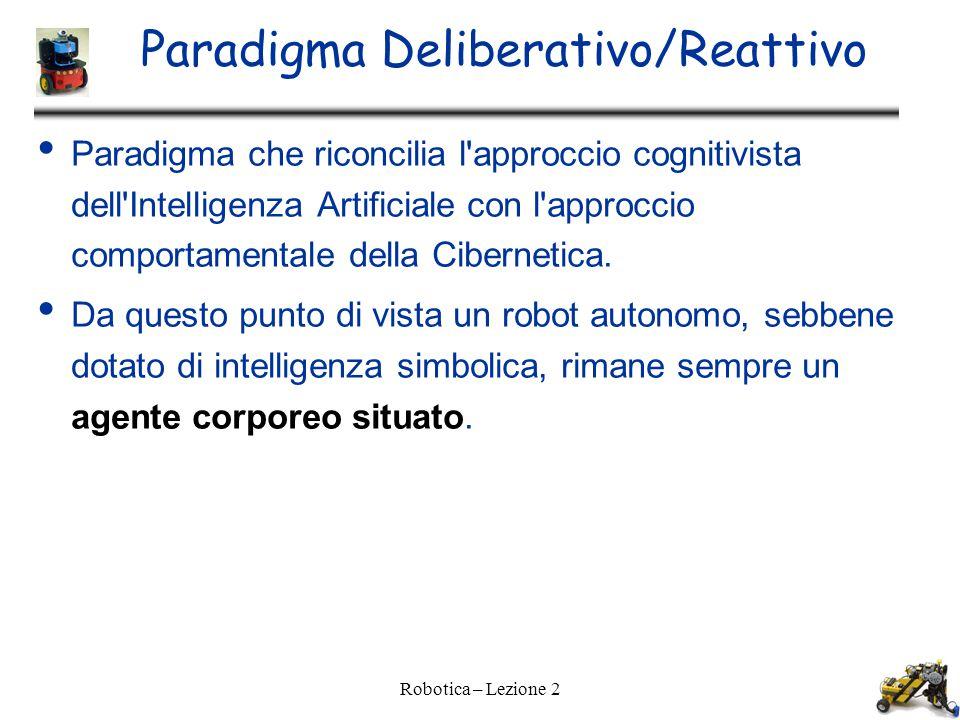 Paradigma Deliberativo/Reattivo