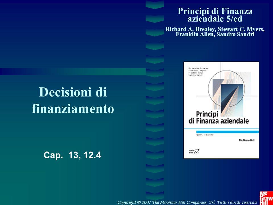 Decisioni di finanziamento