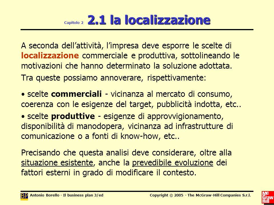 Capitolo 2 2.1 la localizzazione