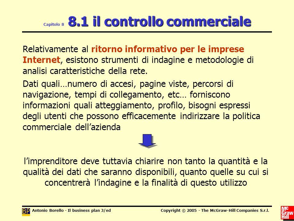Capitolo 8 8.1 il controllo commerciale