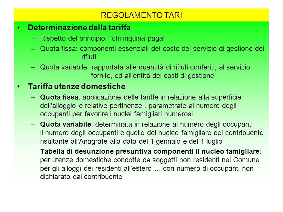 Regolamento i u c composto da imu tasi tari ppt scaricare for Tari utenze non domestiche