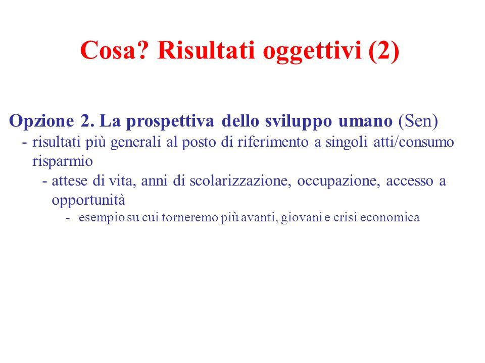 Cosa Risultati oggettivi (2)