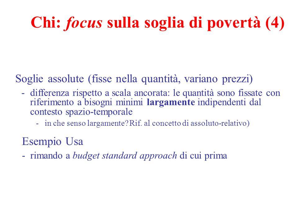 Chi: focus sulla soglia di povertà (4)