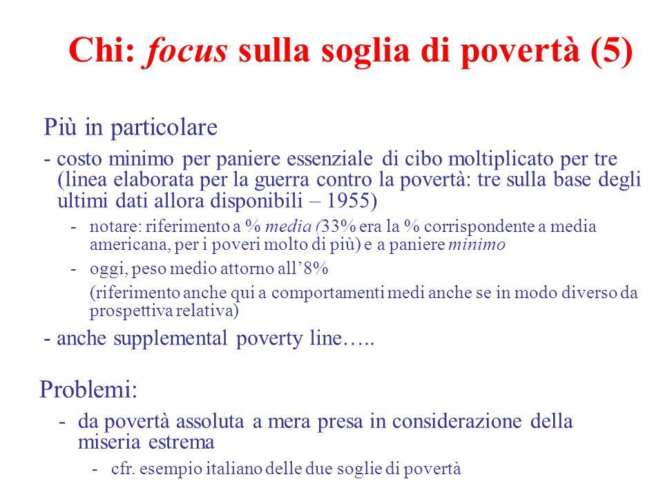 Chi: focus sulla soglia di povertà (5)