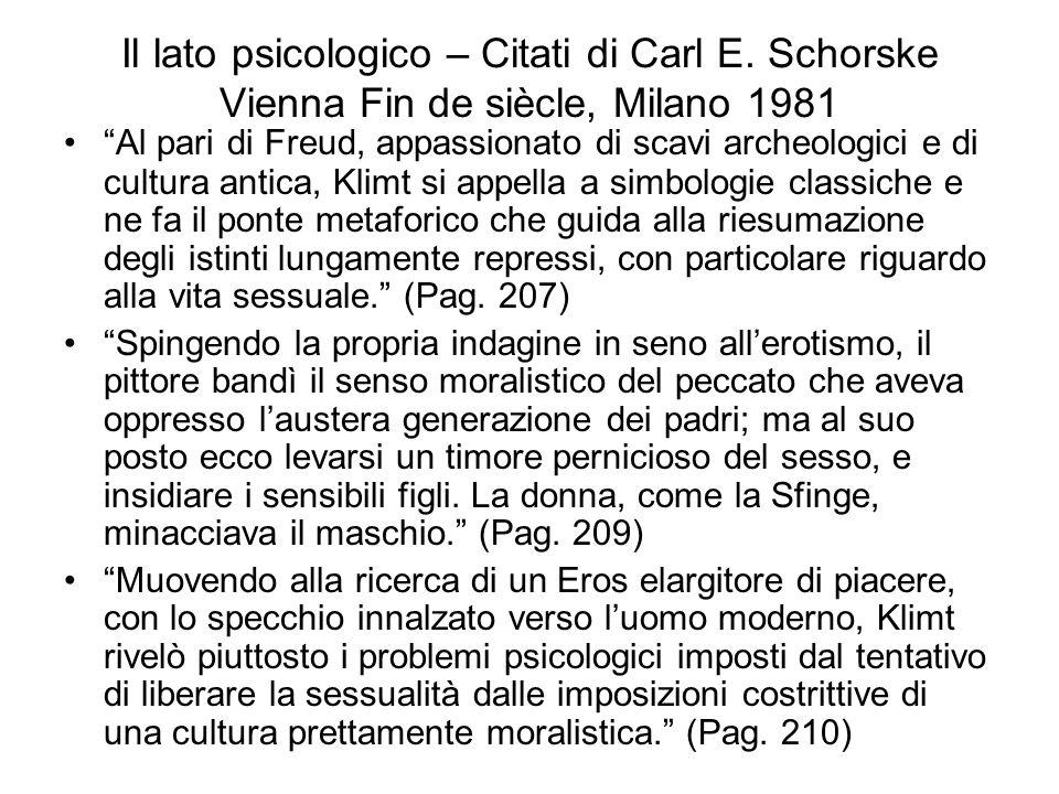 Il lato psicologico – Citati di Carl E