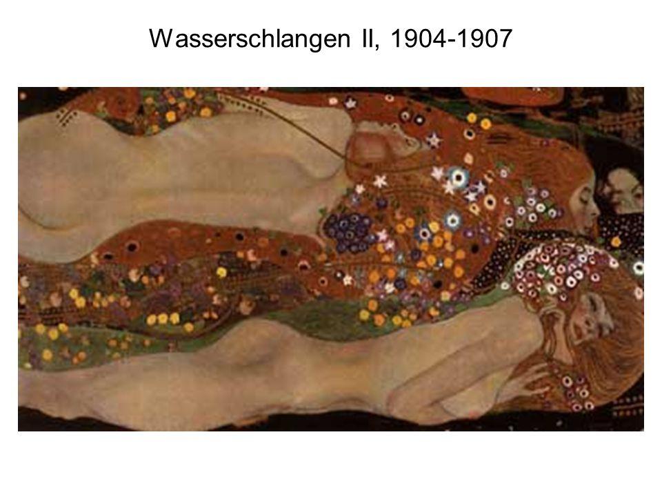 Wasserschlangen II, 1904-1907