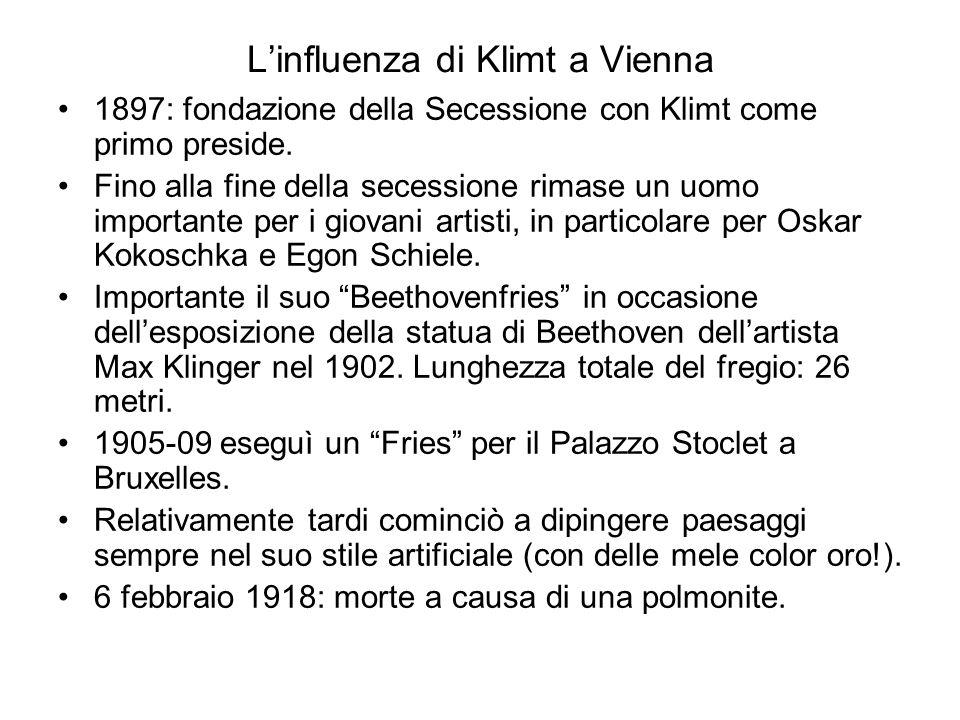 L'influenza di Klimt a Vienna