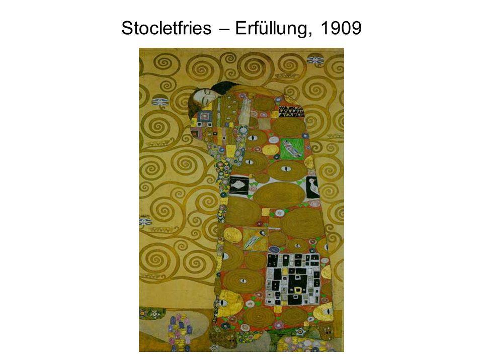Stocletfries – Erfüllung, 1909