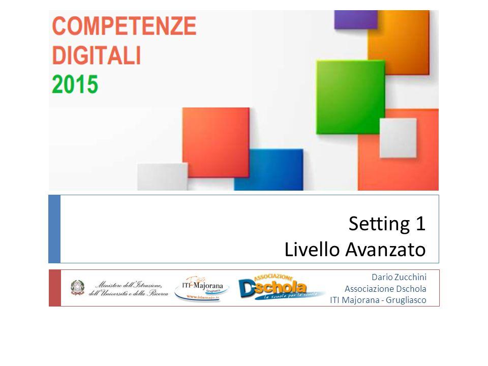 Setting 1 Livello Avanzato