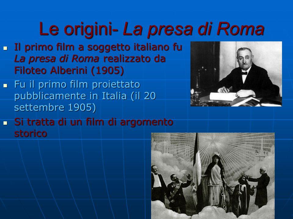 Le origini- La presa di Roma