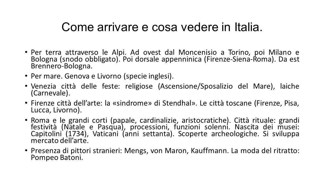 Come arrivare e cosa vedere in Italia.