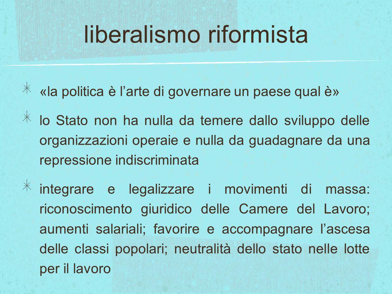 liberalismo riformista