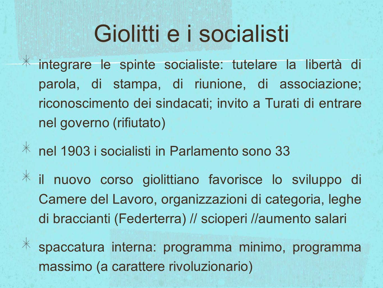 Giolitti e i socialisti