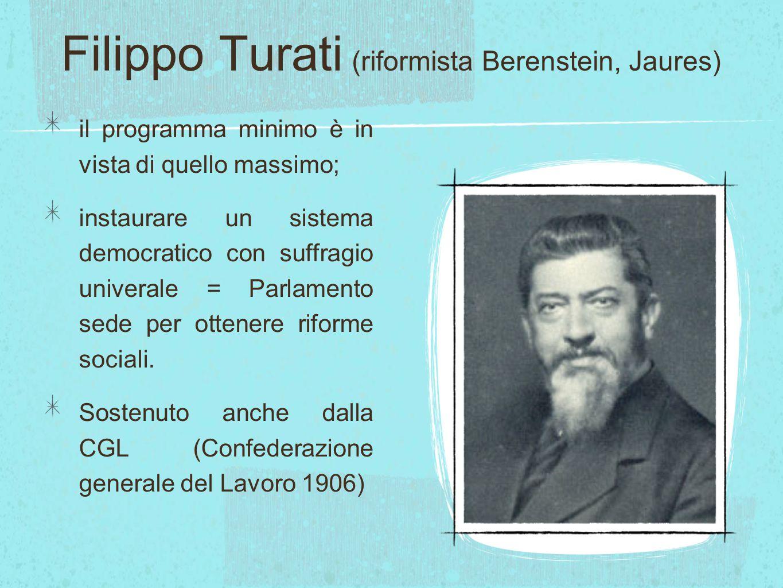 Filippo Turati (riformista Berenstein, Jaures)