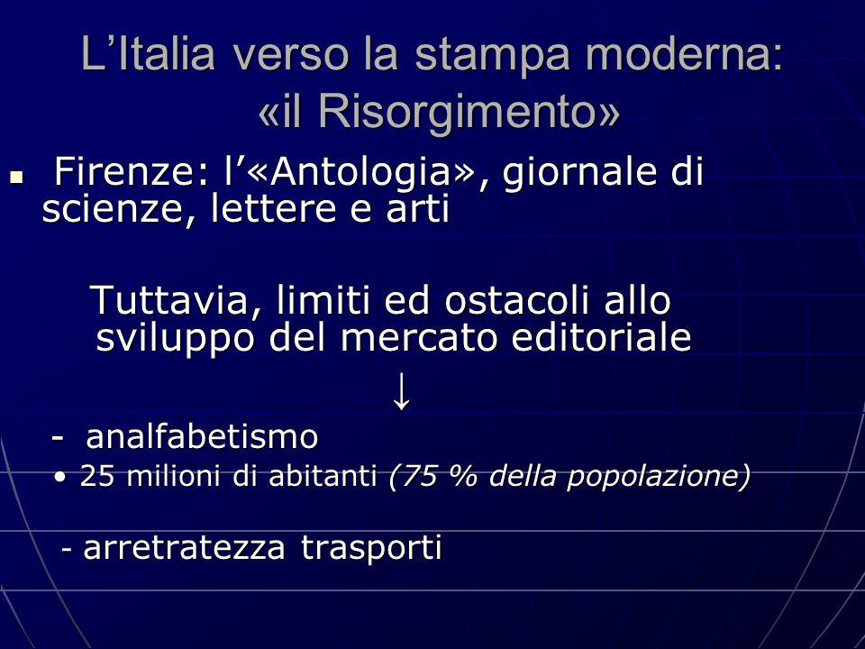 L'Italia verso la stampa moderna: «il Risorgimento»