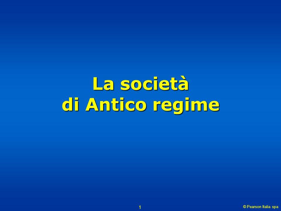La società di Antico regime