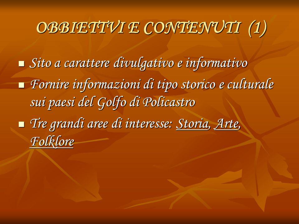 OBBIETTVI E CONTENUTI (1)