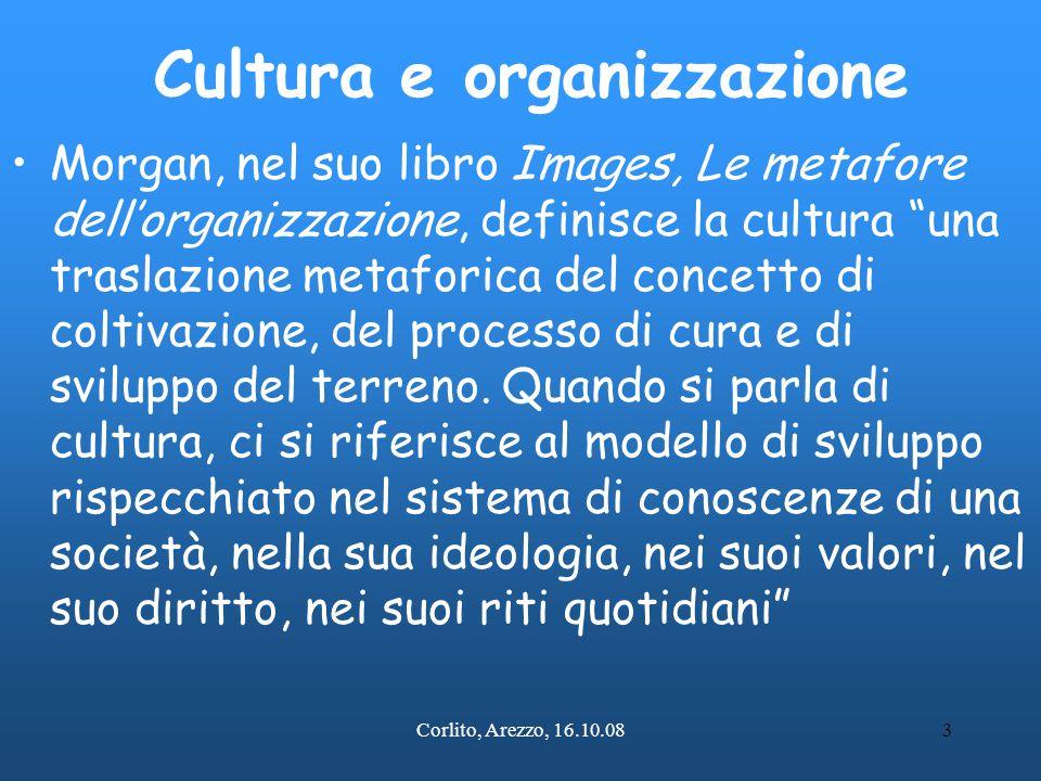 Cultura e organizzazione