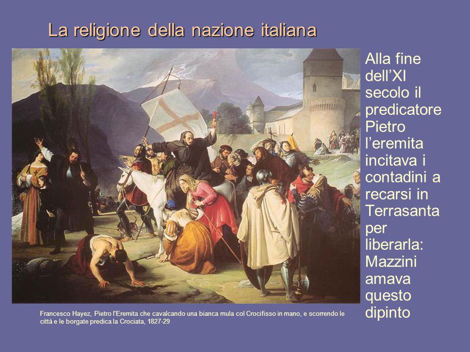 La religione della nazione italiana