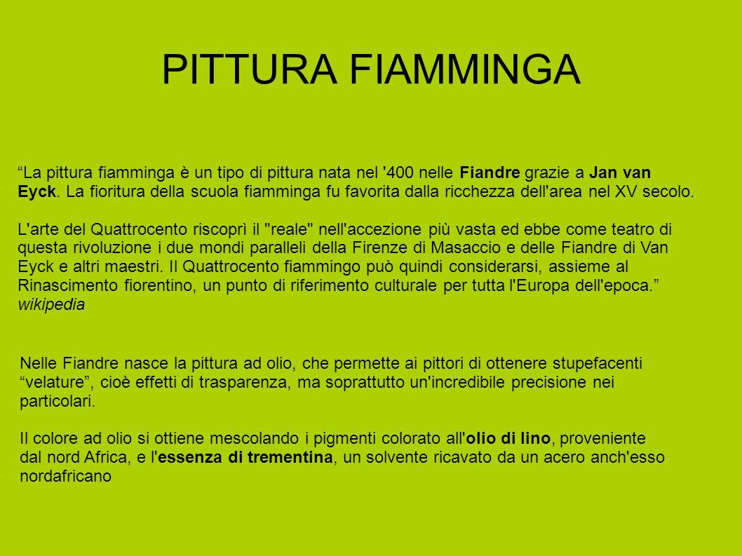 PITTURA FIAMMINGA