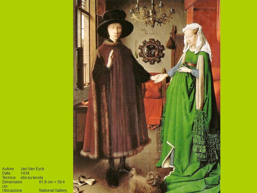 Autore Jan Van Eyck Data 1434. Tecnica olio su tavola.