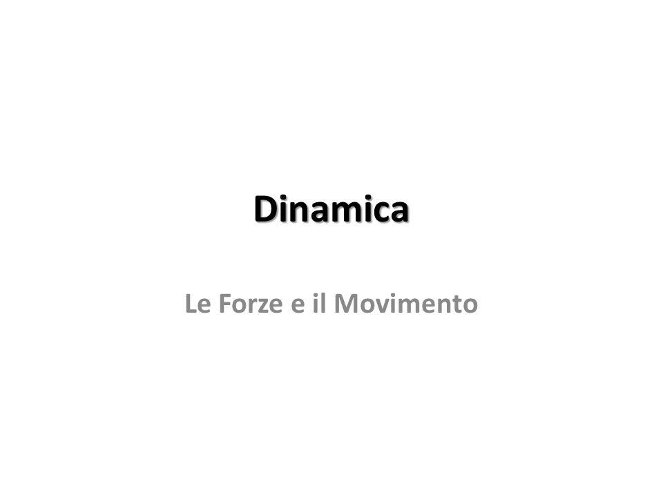 Dinamica Le Forze e il Movimento