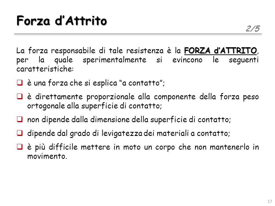 Forza d'Attrito 2/5.