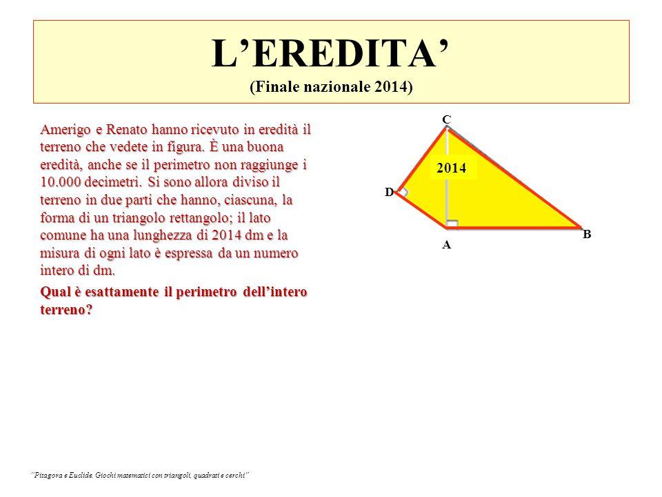 L'EREDITA' (Finale nazionale 2014)