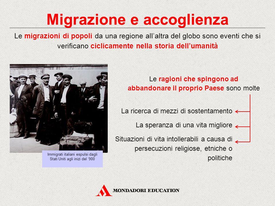 Migrazione e accoglienza