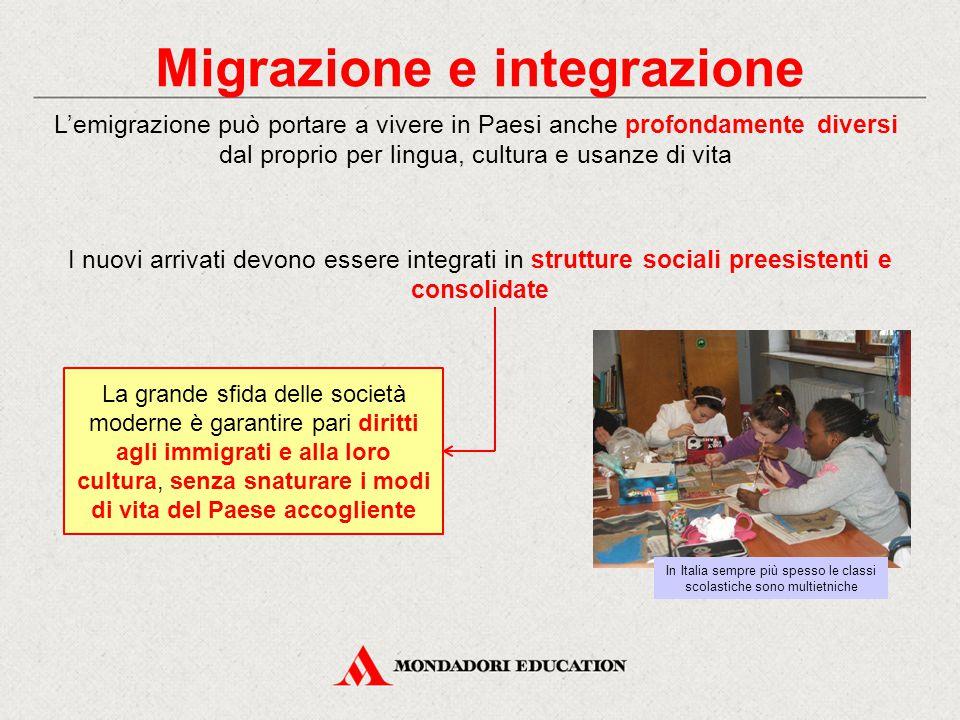 Migrazione e integrazione