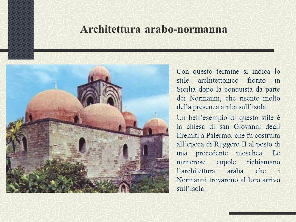 Architettura arabo-normanna