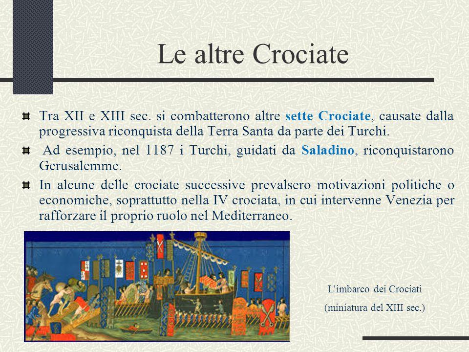 Le altre Crociate