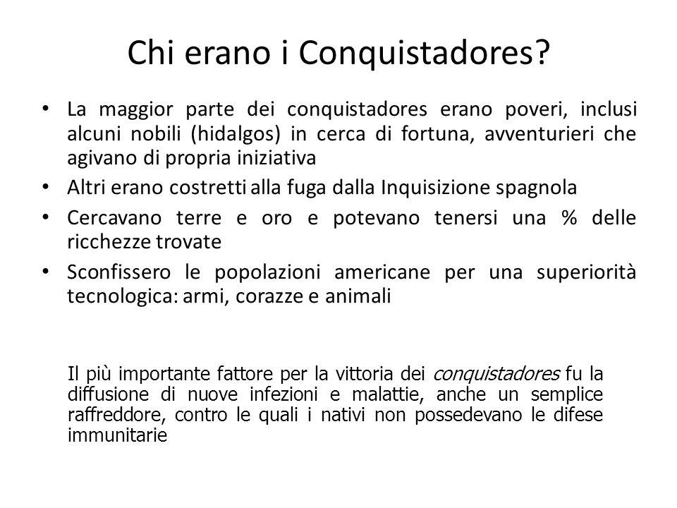 Chi erano i Conquistadores