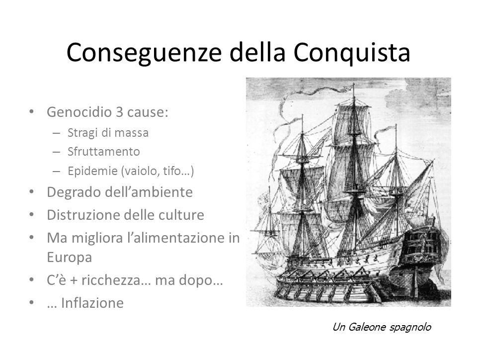 Conseguenze della Conquista
