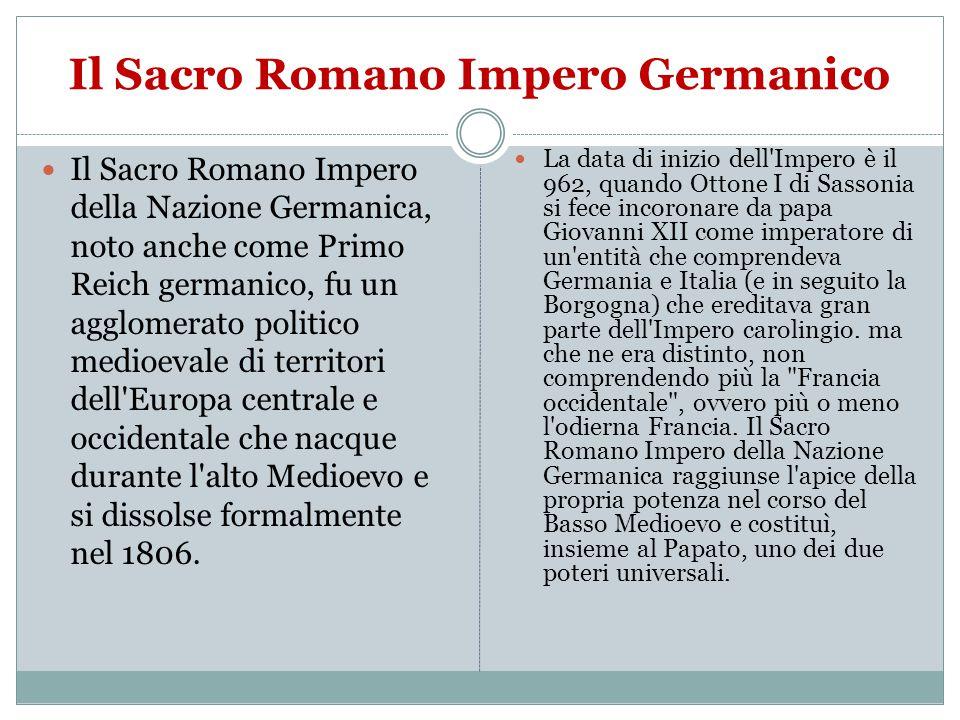 Il Sacro Romano Impero Germanico