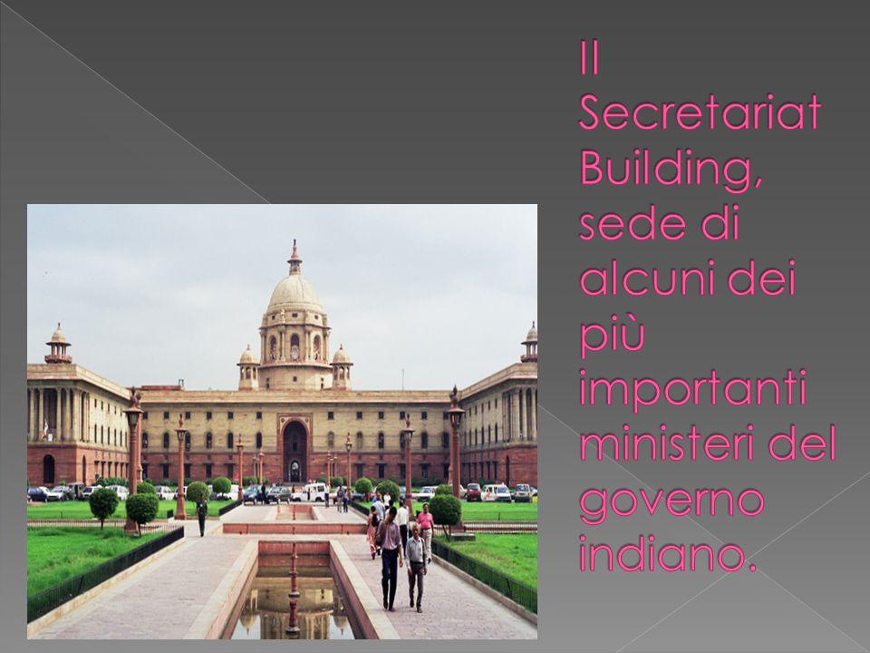 Il Secretariat Building, sede di alcuni dei più importanti ministeri del governo indiano.