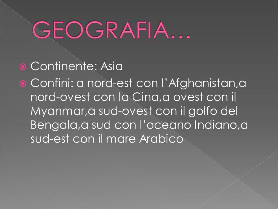GEOGRAFIA… Continente: Asia