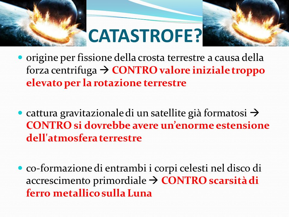 CATASTROFE