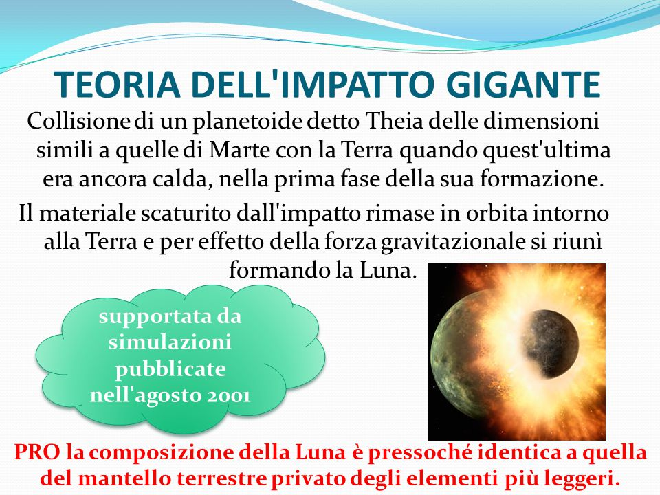 TEORIA DELL IMPATTO GIGANTE