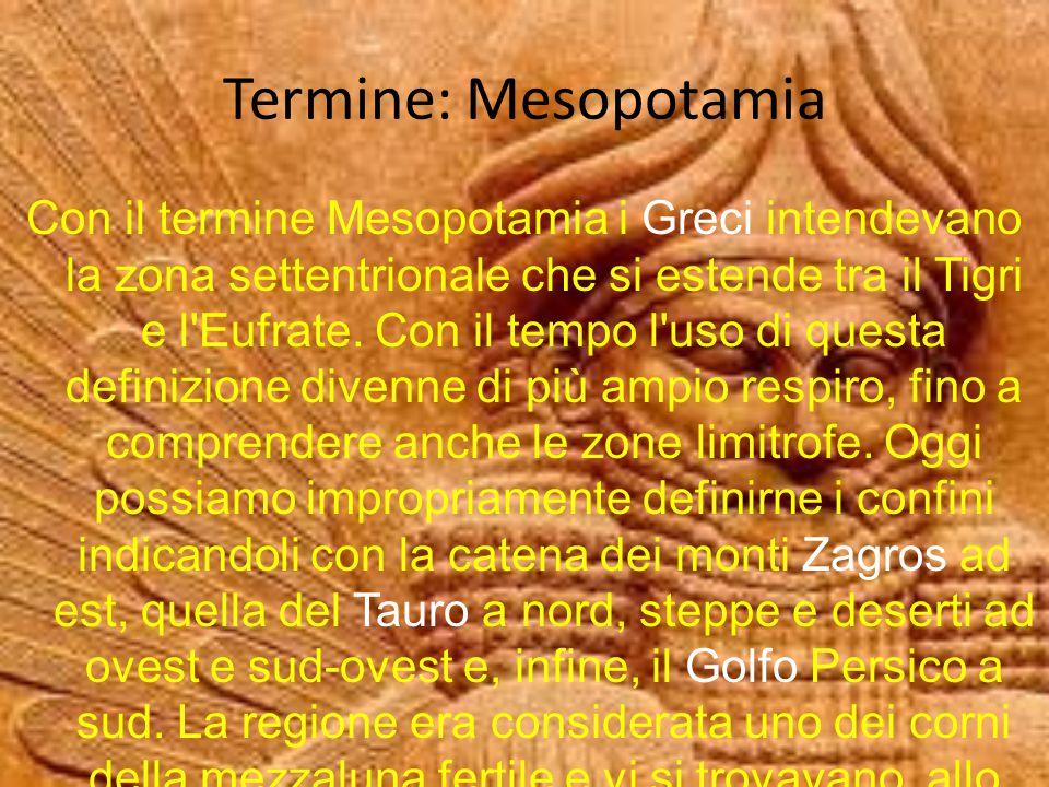 Termine: Mesopotamia