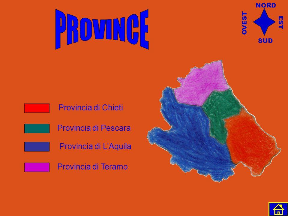 PROVINCE Provincia di Chieti Provincia di Pescara