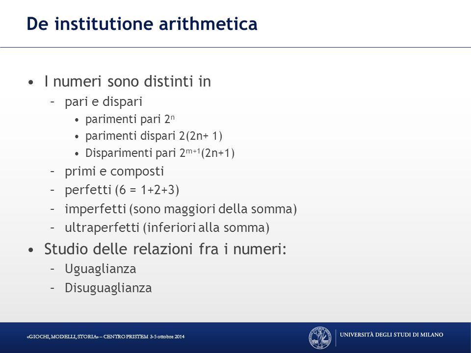 De institutione arithmetica