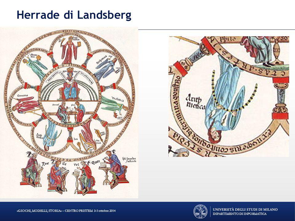 Herrade di Landsberg DIPARTIMENTO DI INFORMATICA