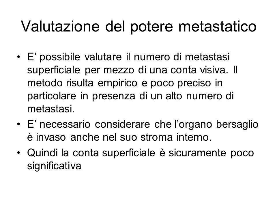 Valutazione del potere metastatico