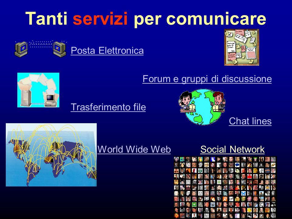 Tanti servizi per comunicare