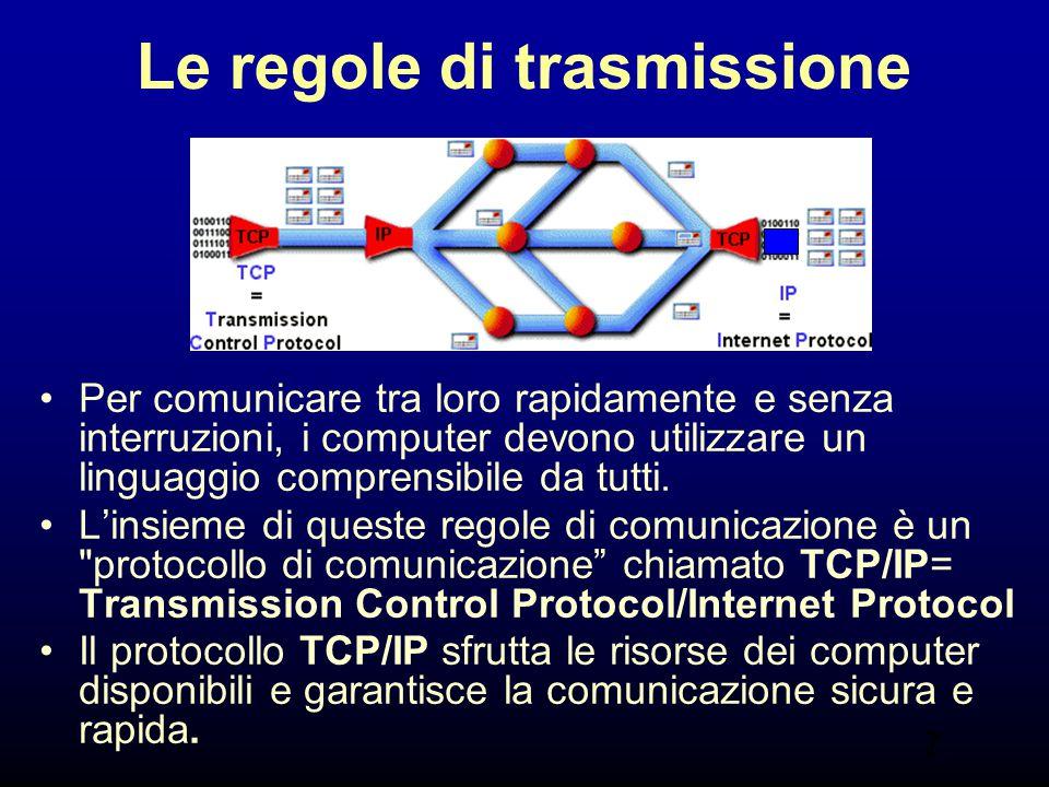 Le regole di trasmissione