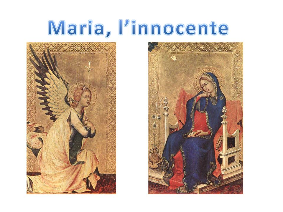 1333 Simone Martini , Annunciazione, Polittico Orsini, Koninklijk Museum voor Schone Kunsten, Antwerpen, Belgio